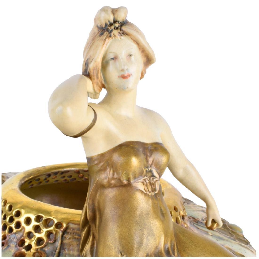 Werke Reissner Amphora Gres Bijou Vase - 3
