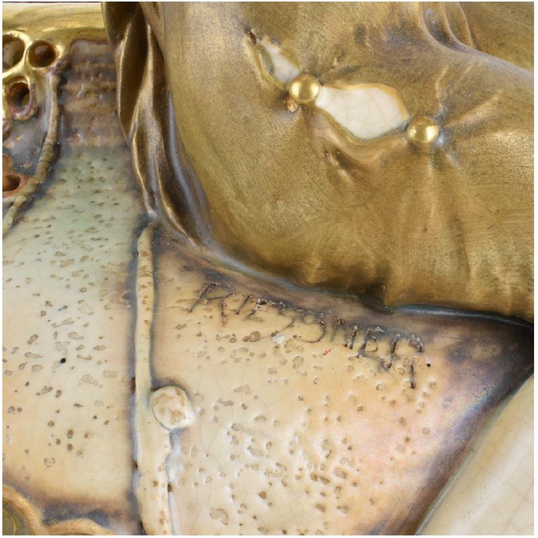 Werke Reissner Amphora Gres Bijou Vase - 4
