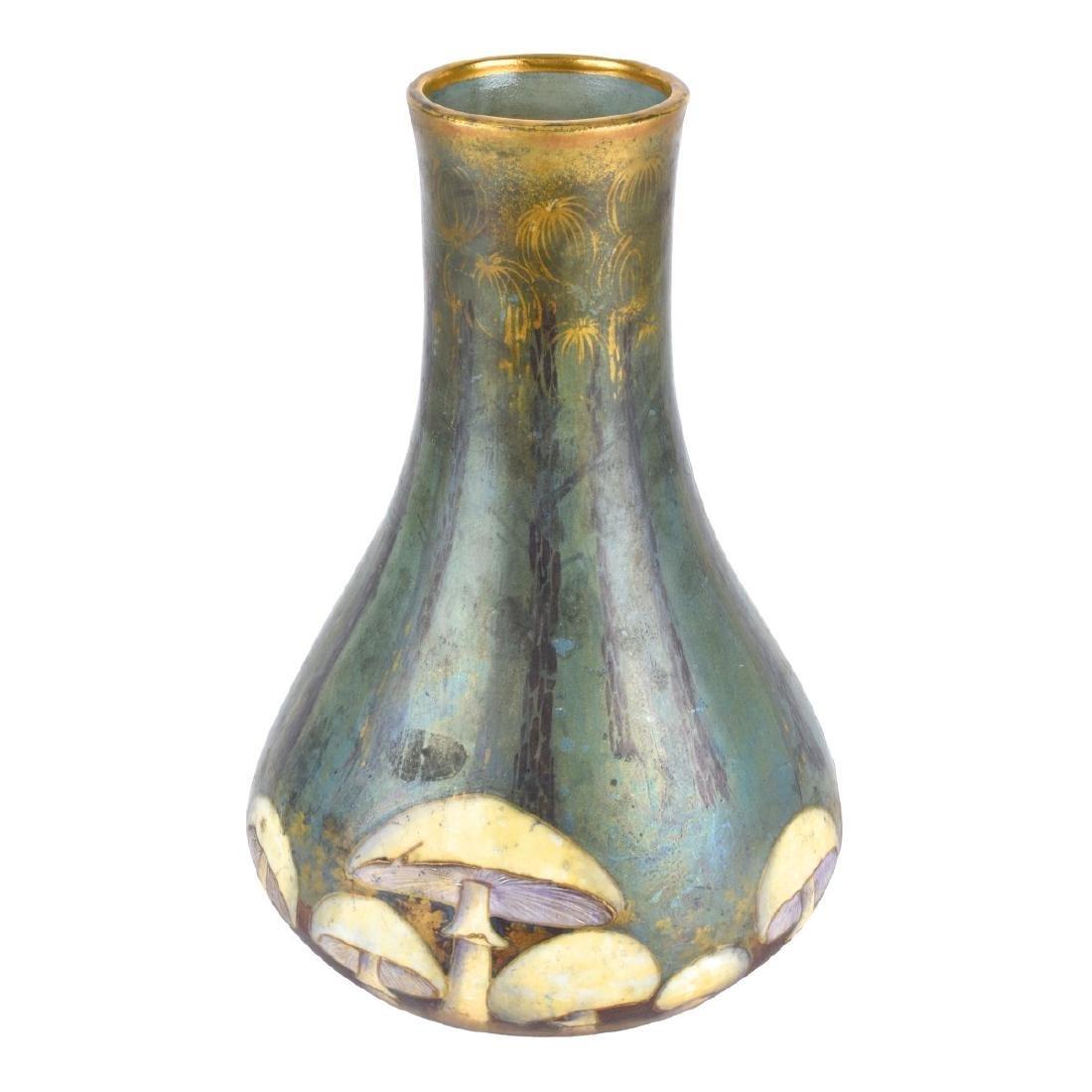 Amphora Turn Teplitz Mushroom Pottery Vase