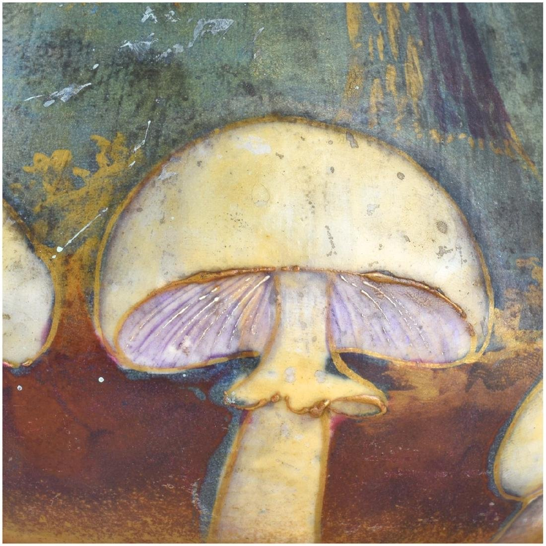 Amphora Turn Teplitz Mushroom Pottery Vase - 4