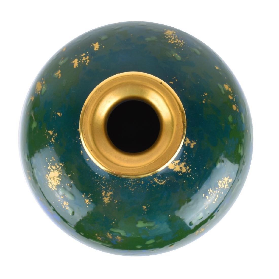 Turn Teplitz Amphora Woodland and Rising Sun Vase - 4