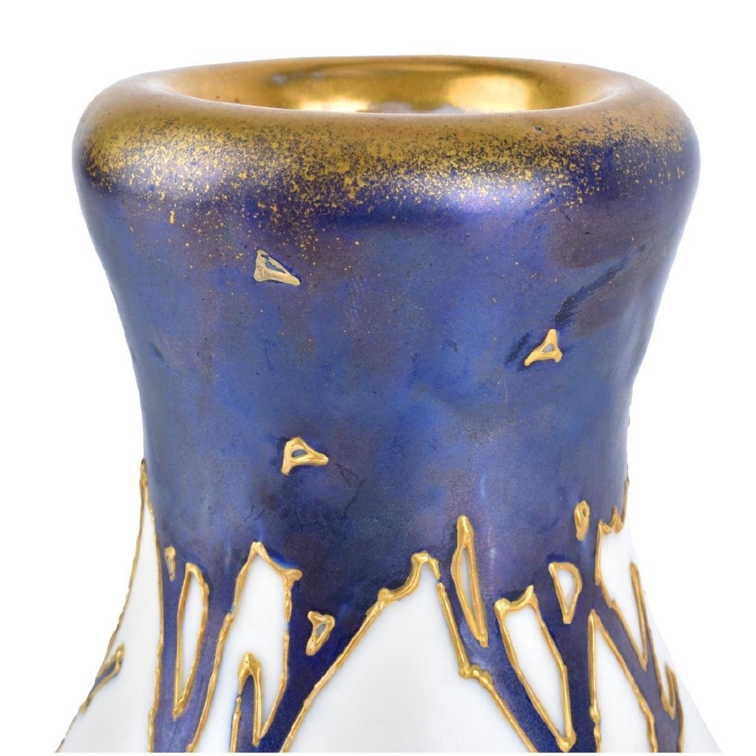 Amphora Maiden Portrait Pottery Vase - 3