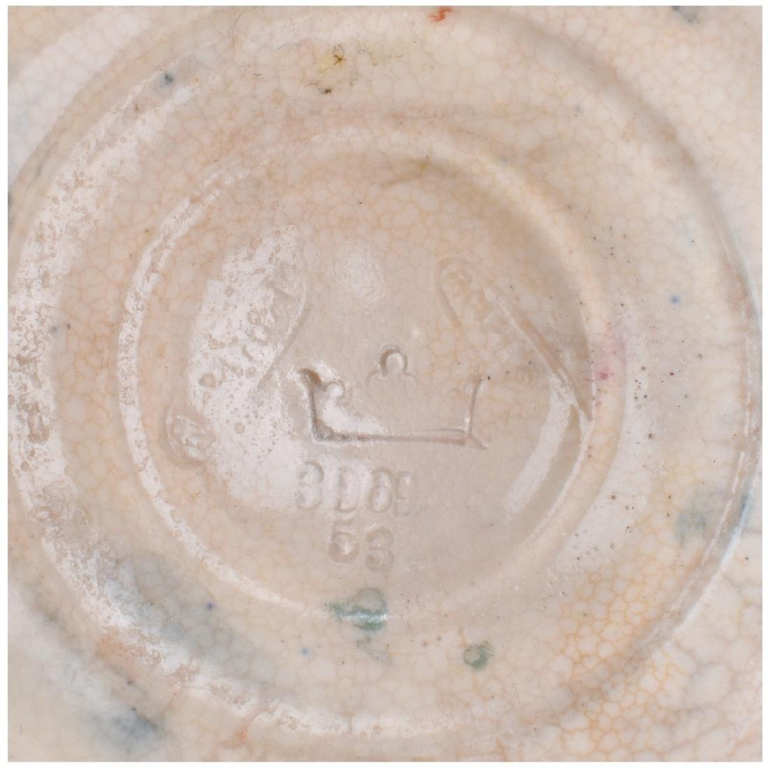 Large Amphora Enameled Pottery Pitcher - 6