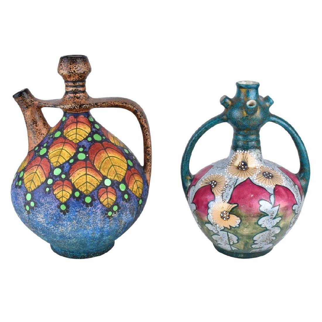 Two Piece Amphora Lot by Paul Dachsel