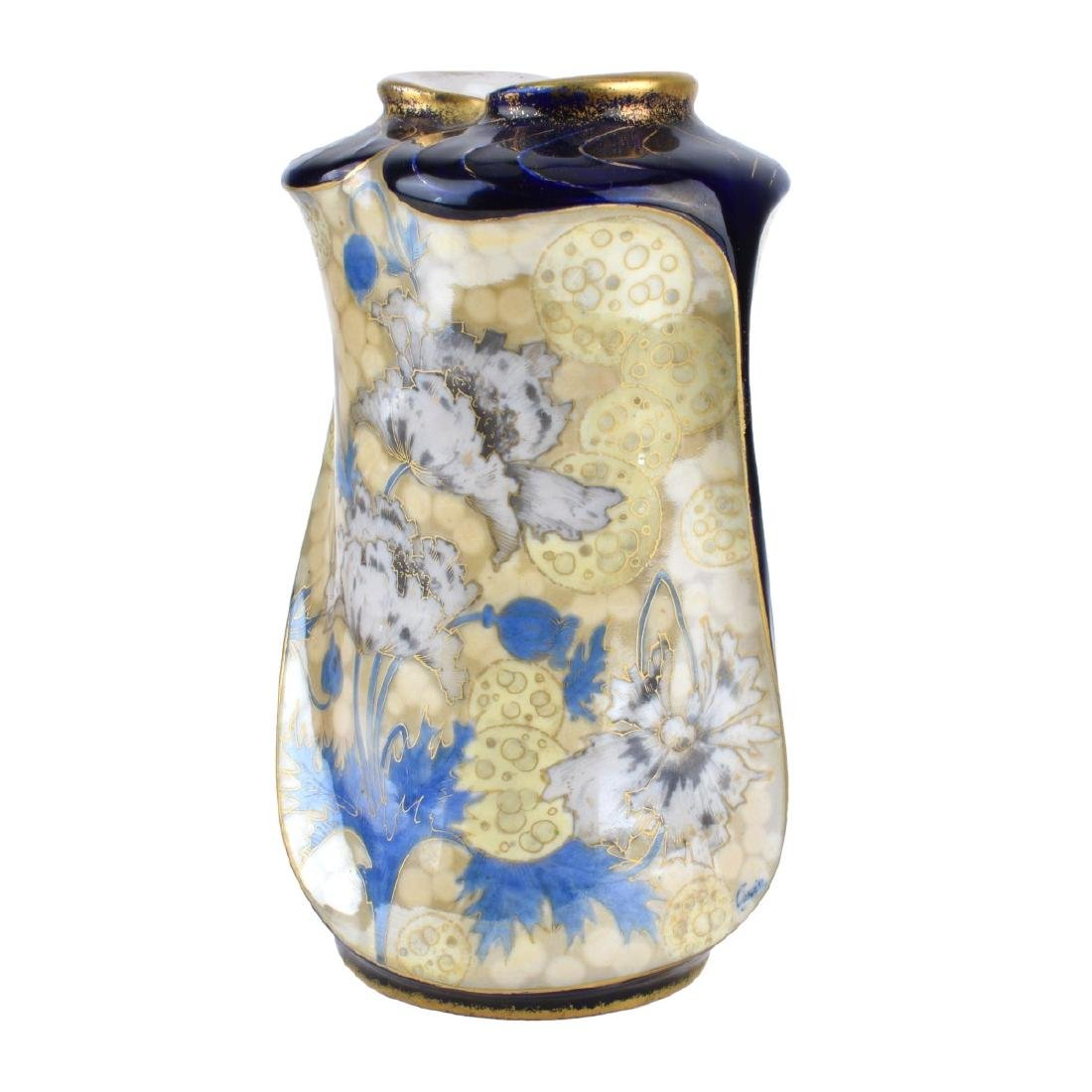 "Turn Teplitz Amphora ""Osiris"" Vase"