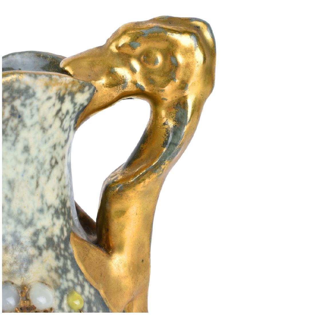 Amphora Austria Gres Bijoux Jeweled Pitcher - 4