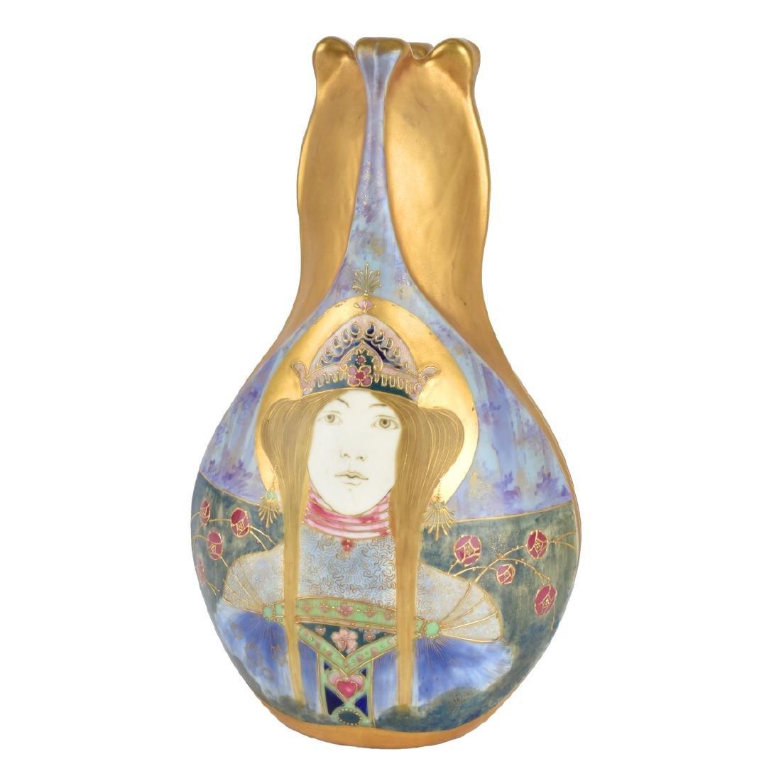 Amphora Turn Teplitz Princess Vase