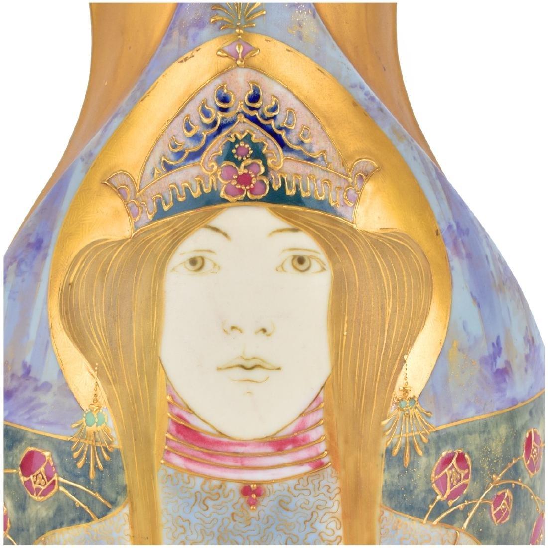 Amphora Turn Teplitz Princess Vase - 5