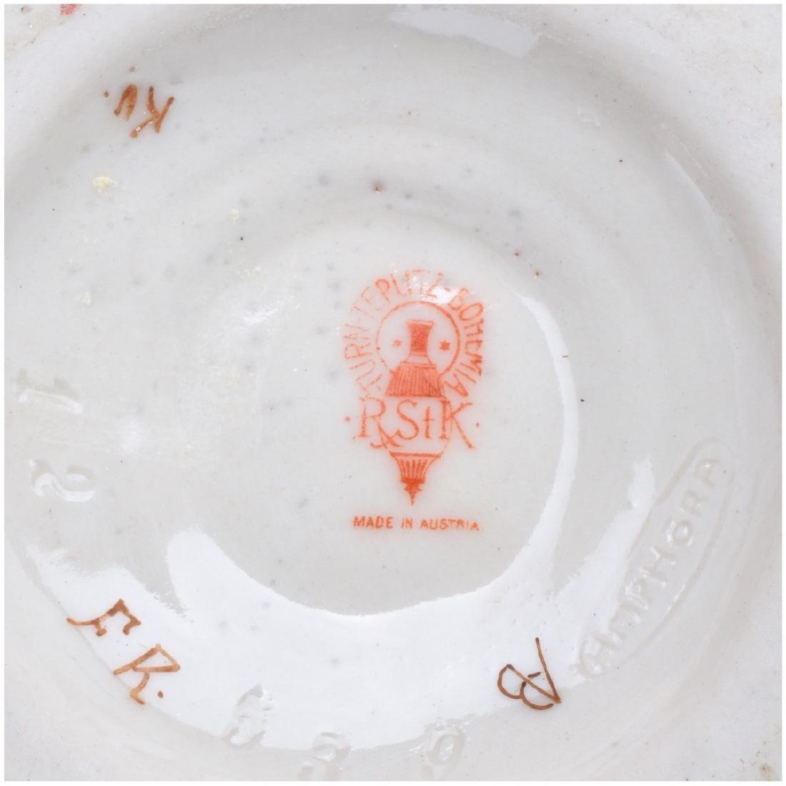 Turn Teplitz Amphora Reticulated Pottery Ewer - 5
