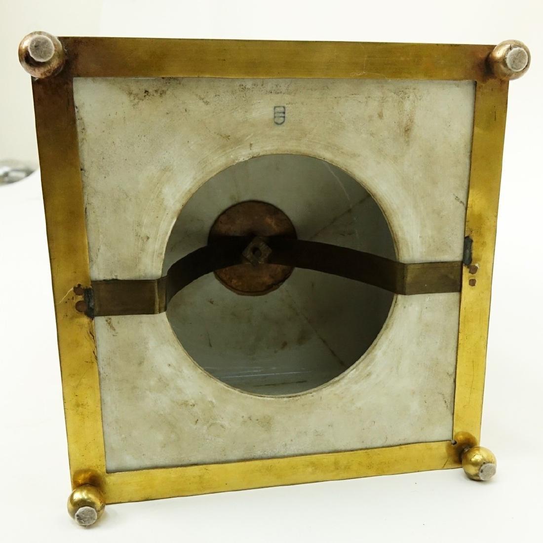 19th C. Royal Vienna Porcelain Mantle Clock - 6