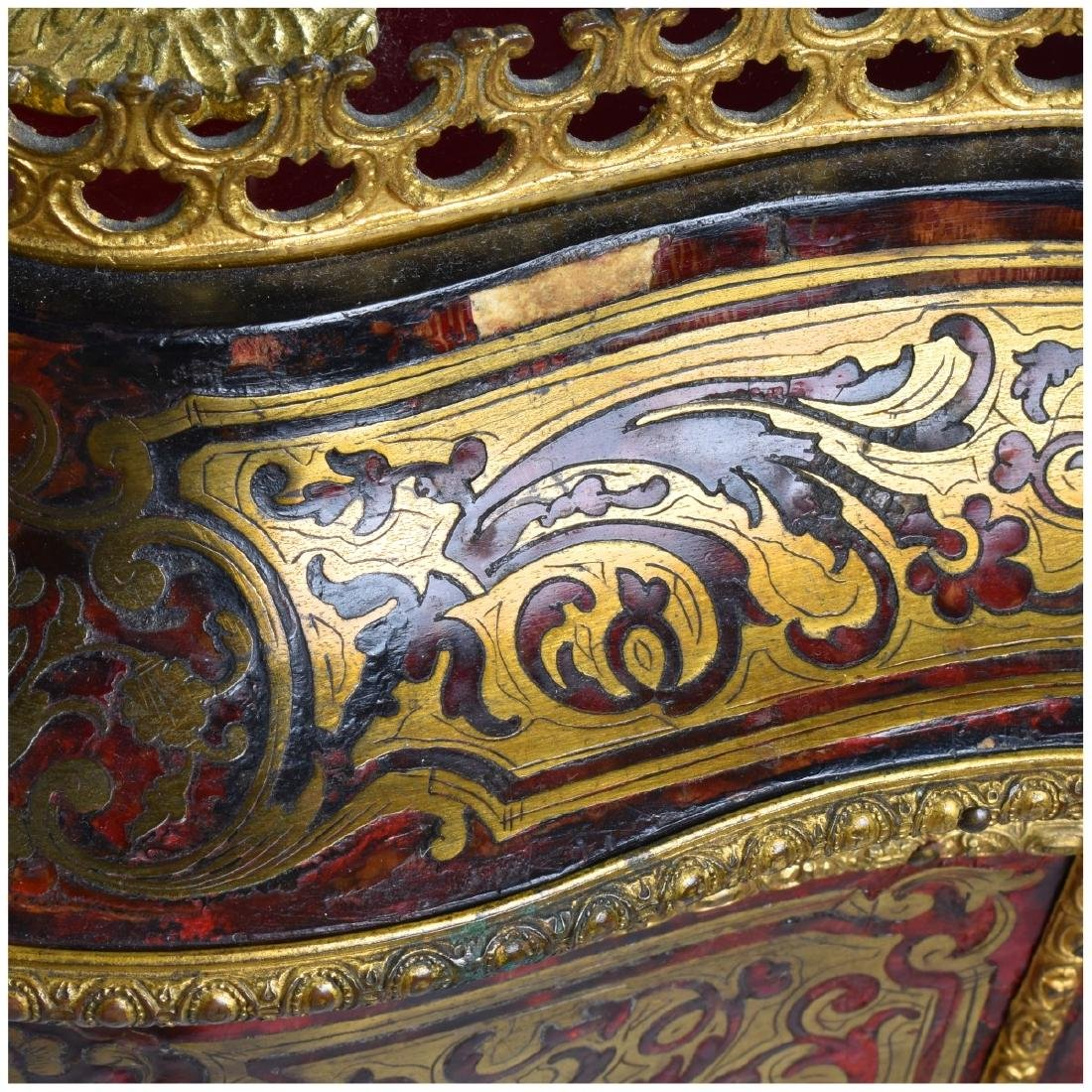19th Century French Boulle Vitrine Table - 5