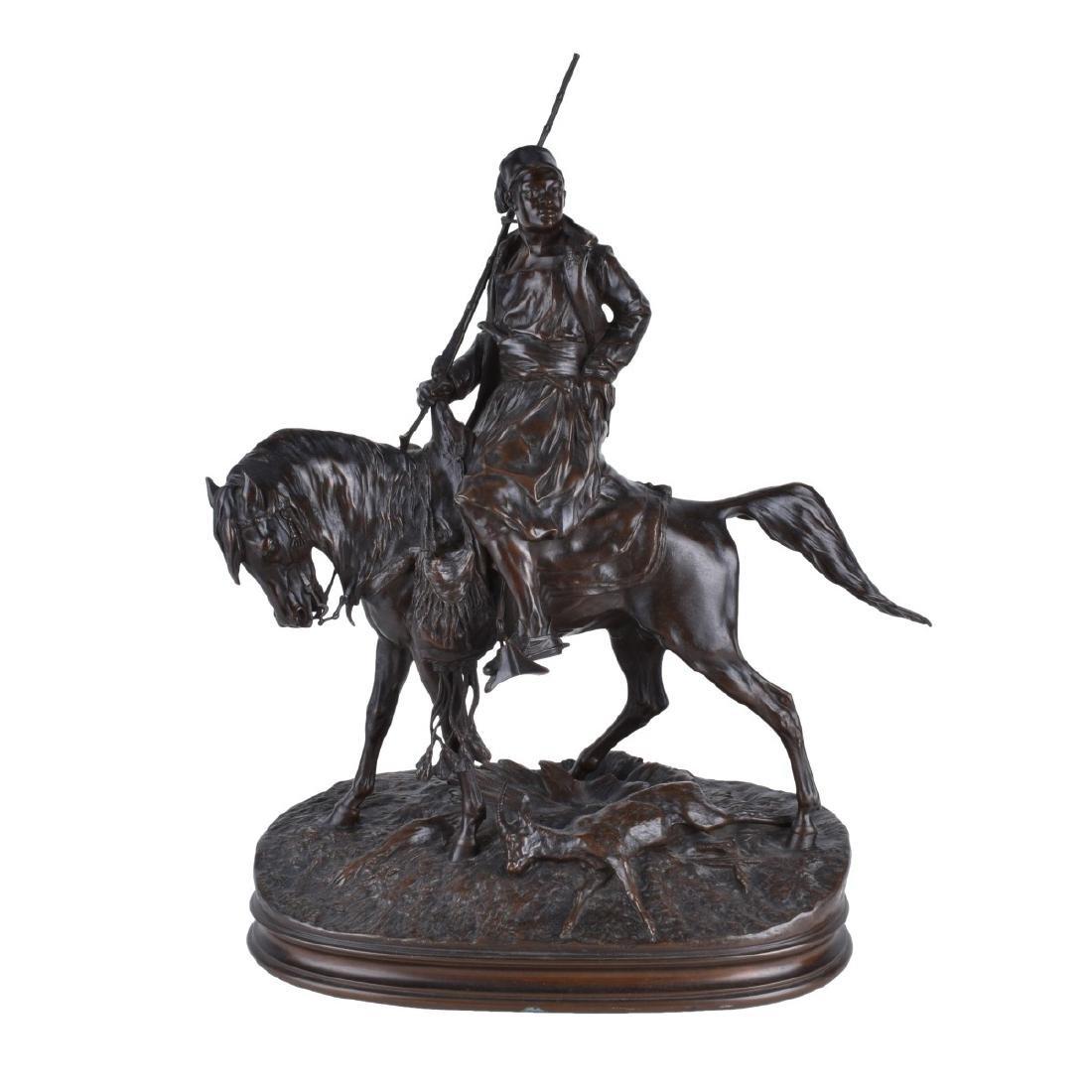 Pierre Jules Mene (1810 - 1879) Bronze Sculpture