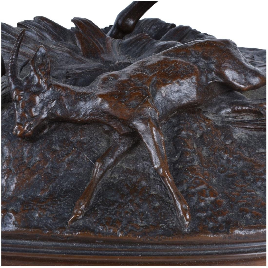 Pierre Jules Mene (1810 - 1879) Bronze Sculpture - 4