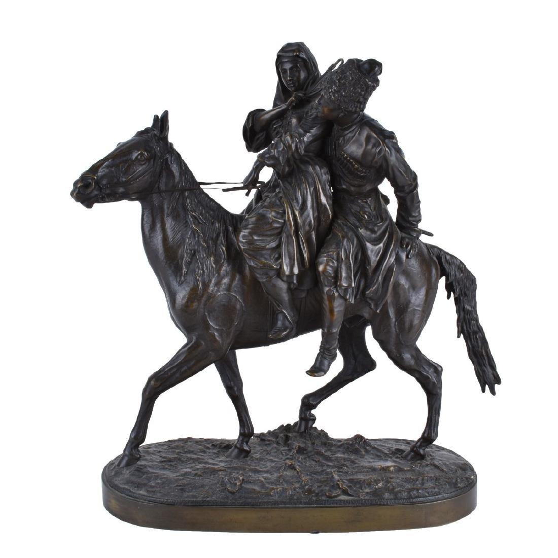 Lanceray, Russian (1875 - 1946) Bronze Sculpture