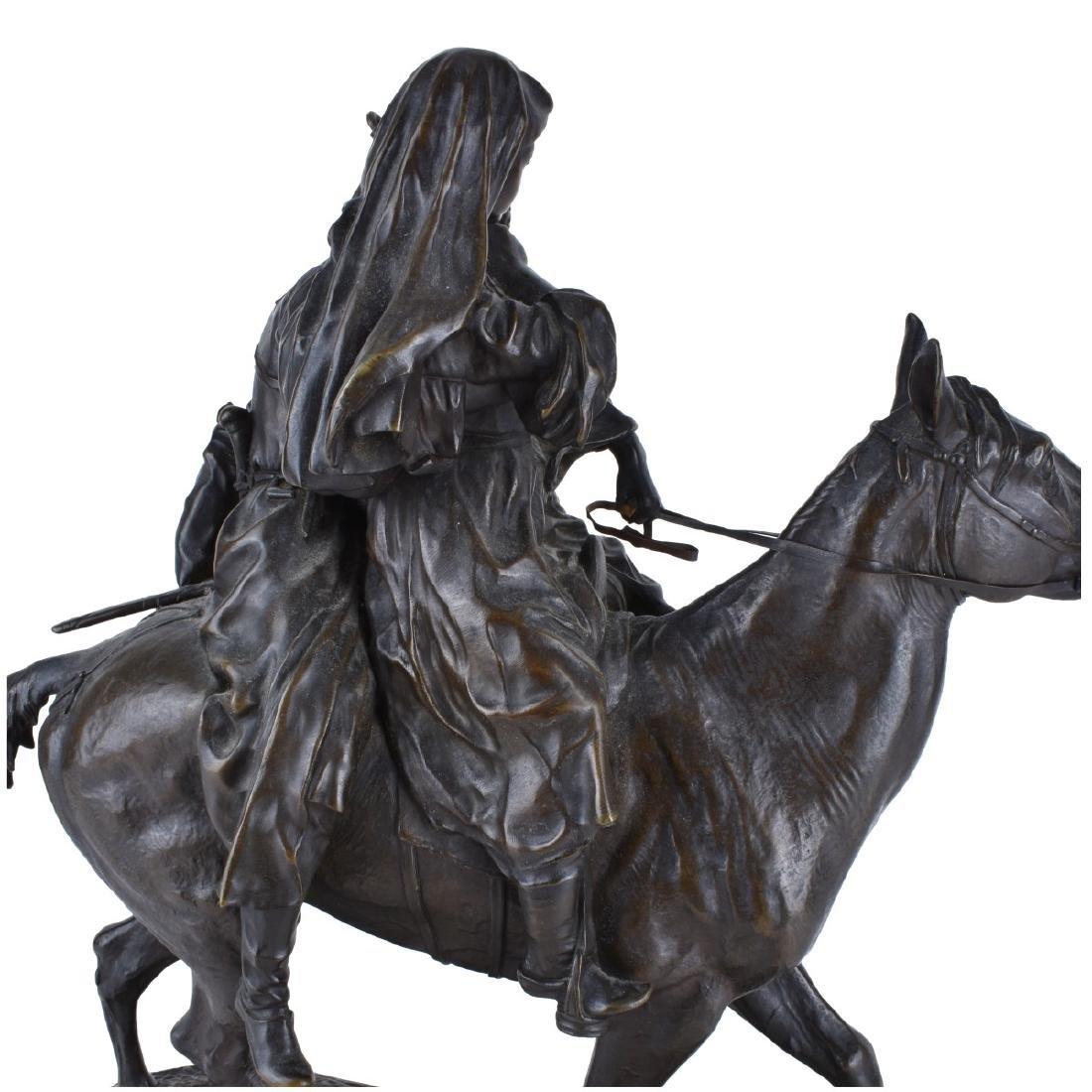 Lanceray, Russian (1875 - 1946) Bronze Sculpture - 2