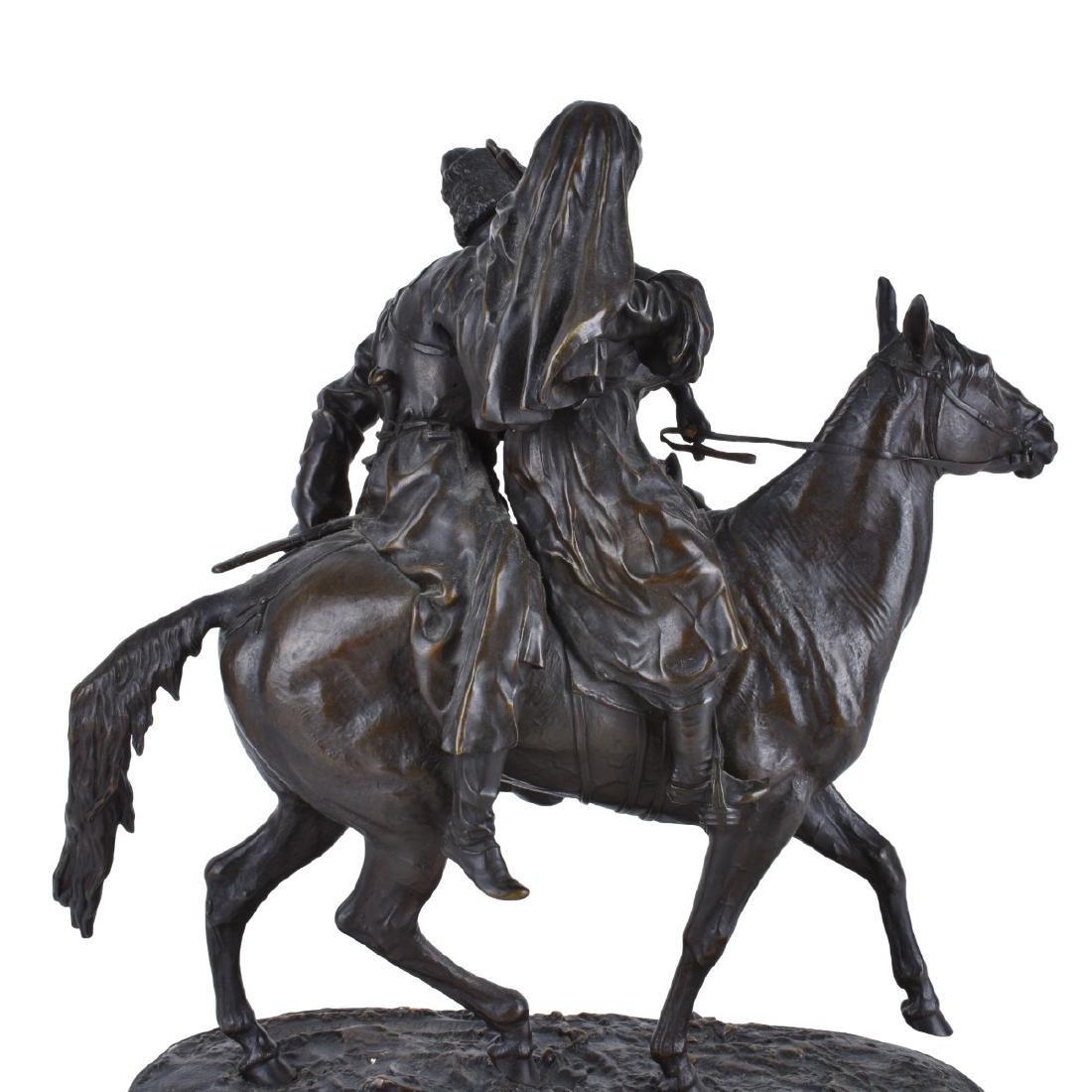 Lanceray, Russian (1875 - 1946) Bronze Sculpture - 3