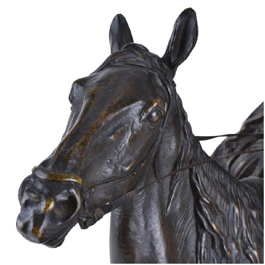 Lanceray, Russian (1875 - 1946) Bronze Sculpture - 4