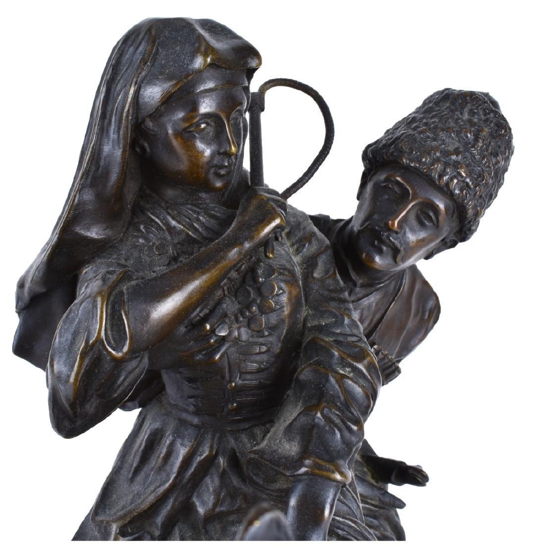 Lanceray, Russian (1875 - 1946) Bronze Sculpture - 6