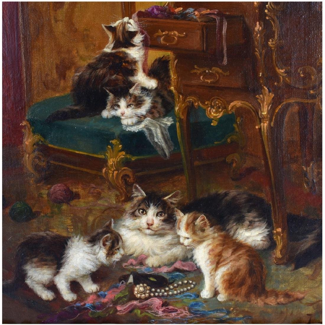 Jules Leroy, French (1833 - 1865) Oil on Canvas - 3