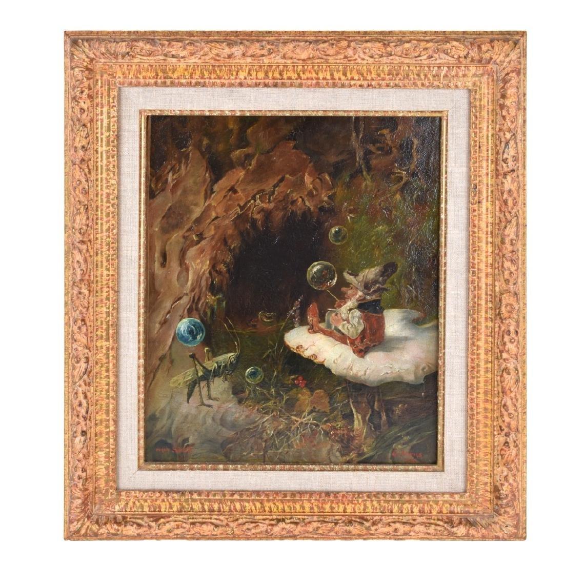 Heinrich Schlitt (1849 - 1923) Oil on Canvas - 2