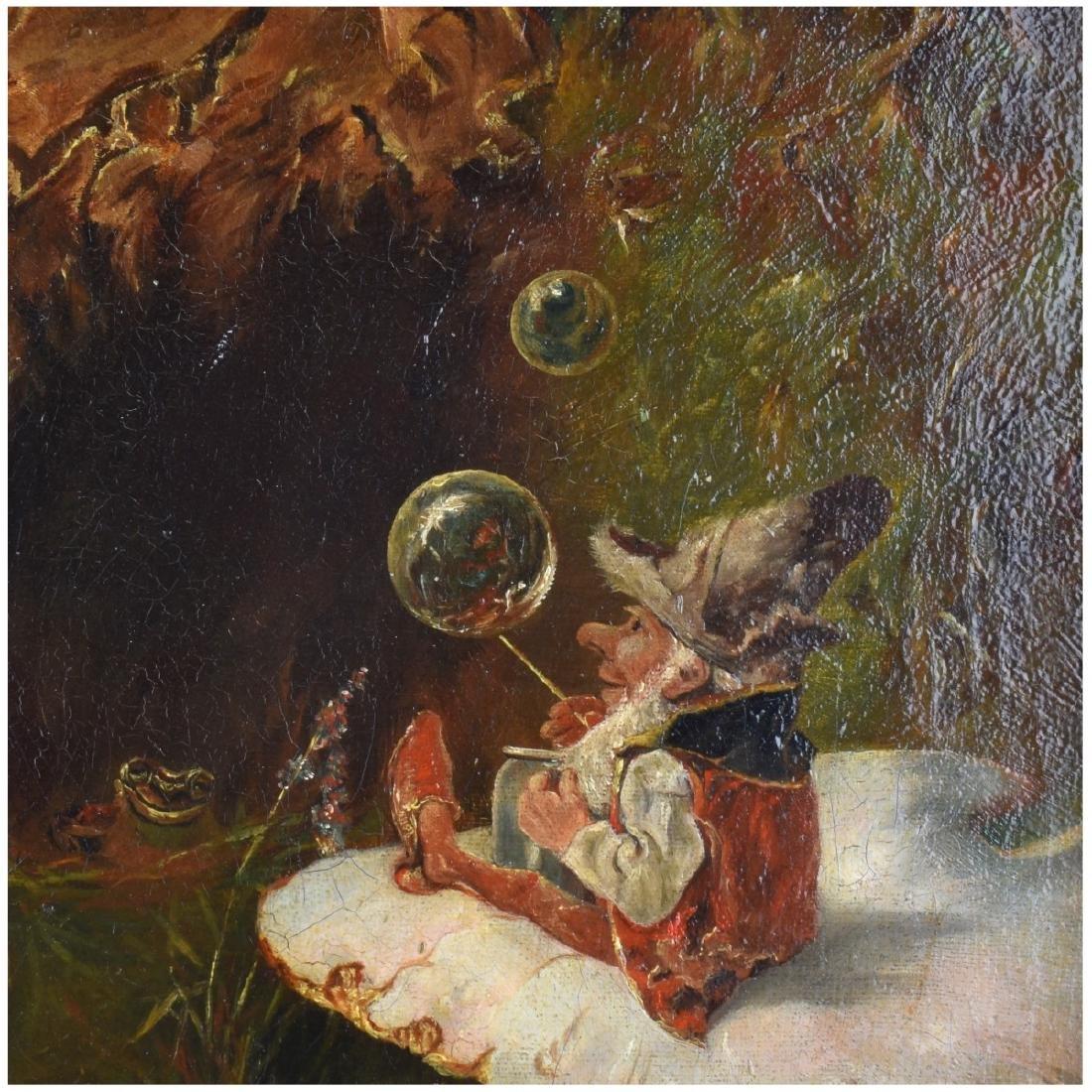 Heinrich Schlitt (1849 - 1923) Oil on Canvas - 4