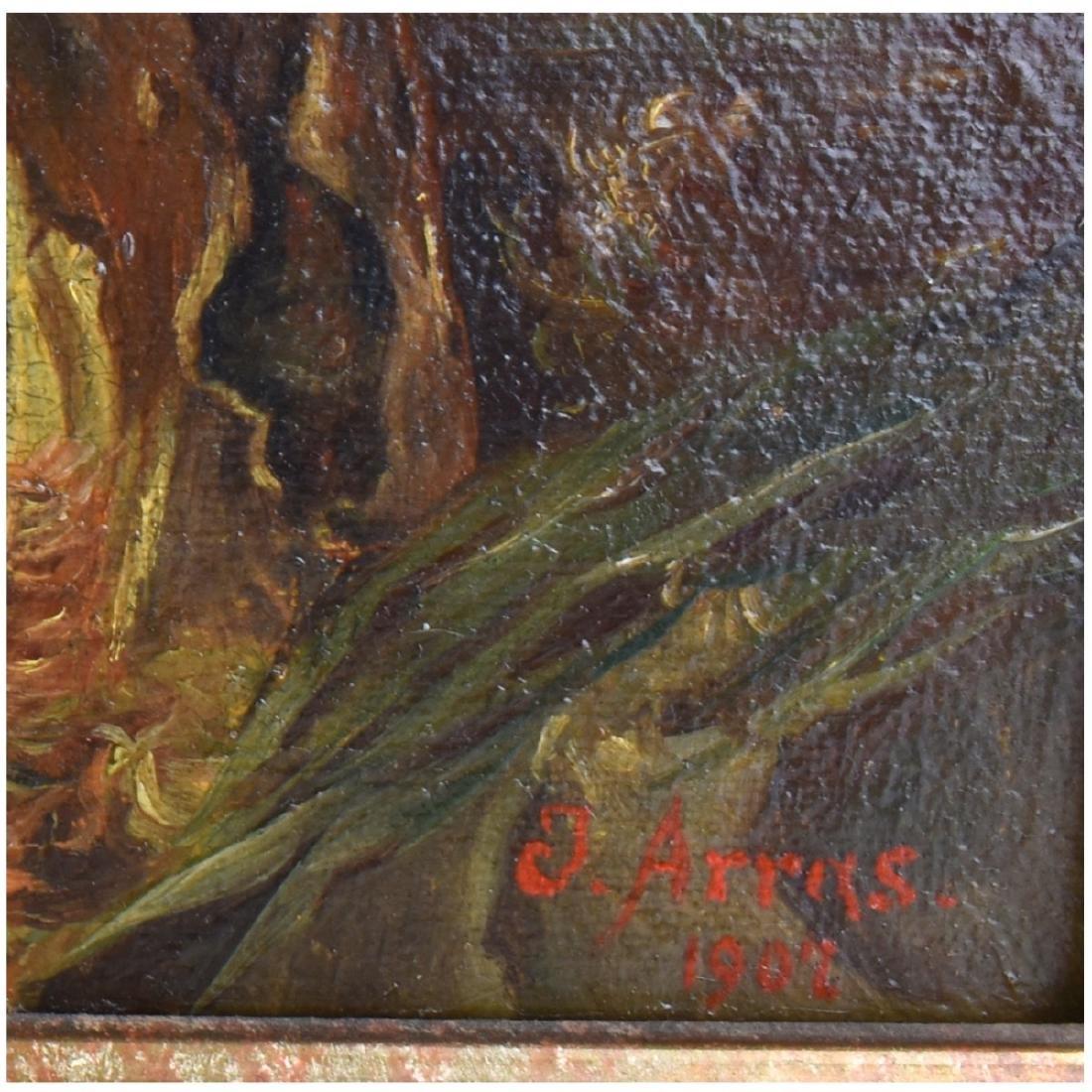 Heinrich Schlitt (1849 - 1923) Oil on Canvas - 5