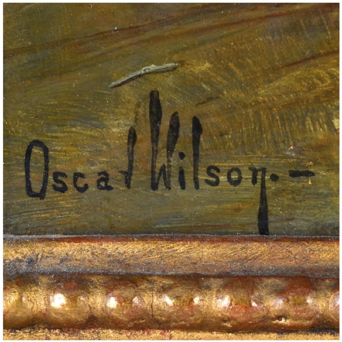 Oscar Wilson, American (1867 - 1930) Oil on Board, - 5