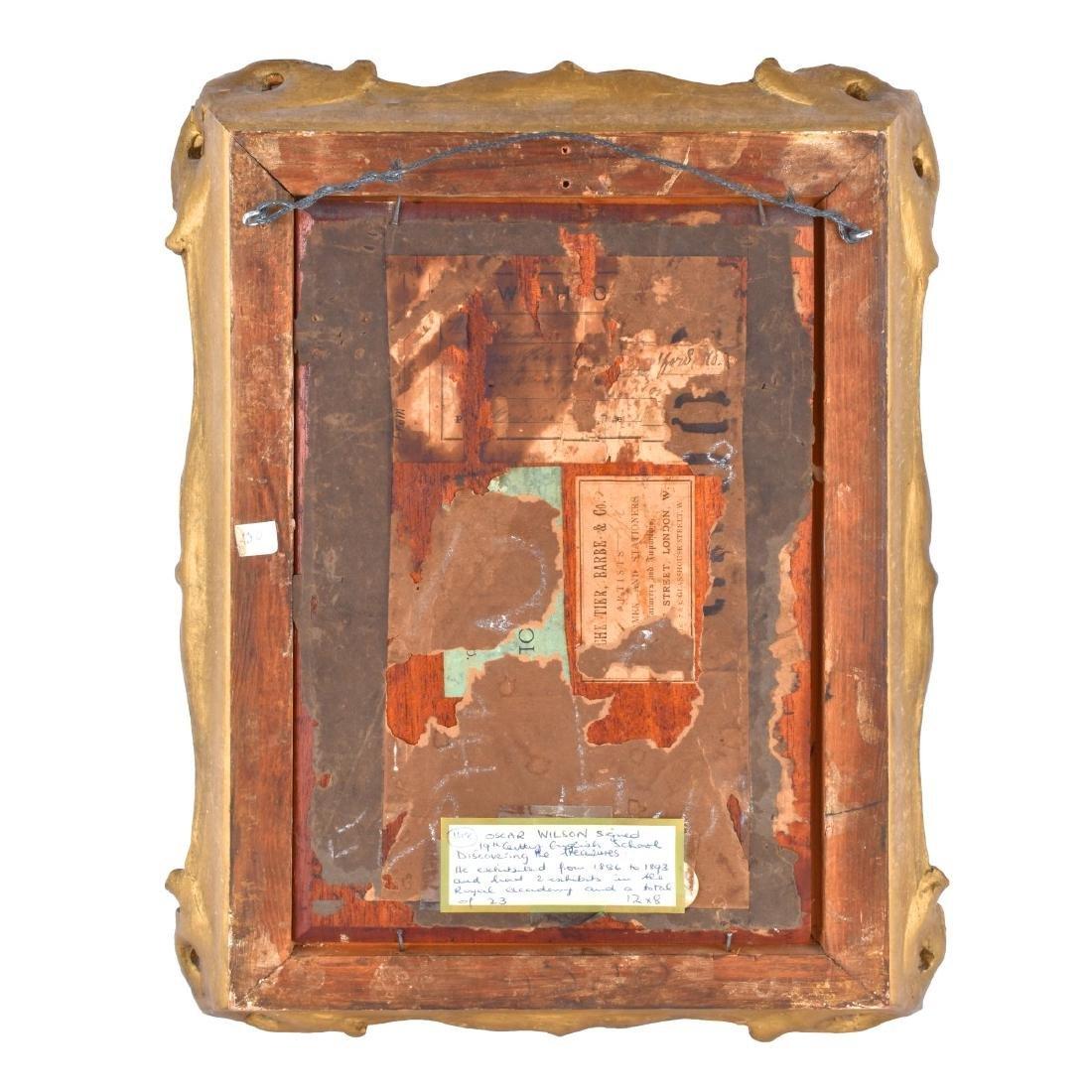 Oscar Wilson, American (1867 - 1930) Oil on Board, - 6