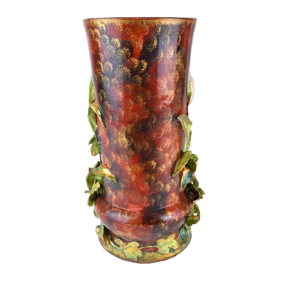 Pair of Carlton Ware Porcelain Bird Figural Vases - 2