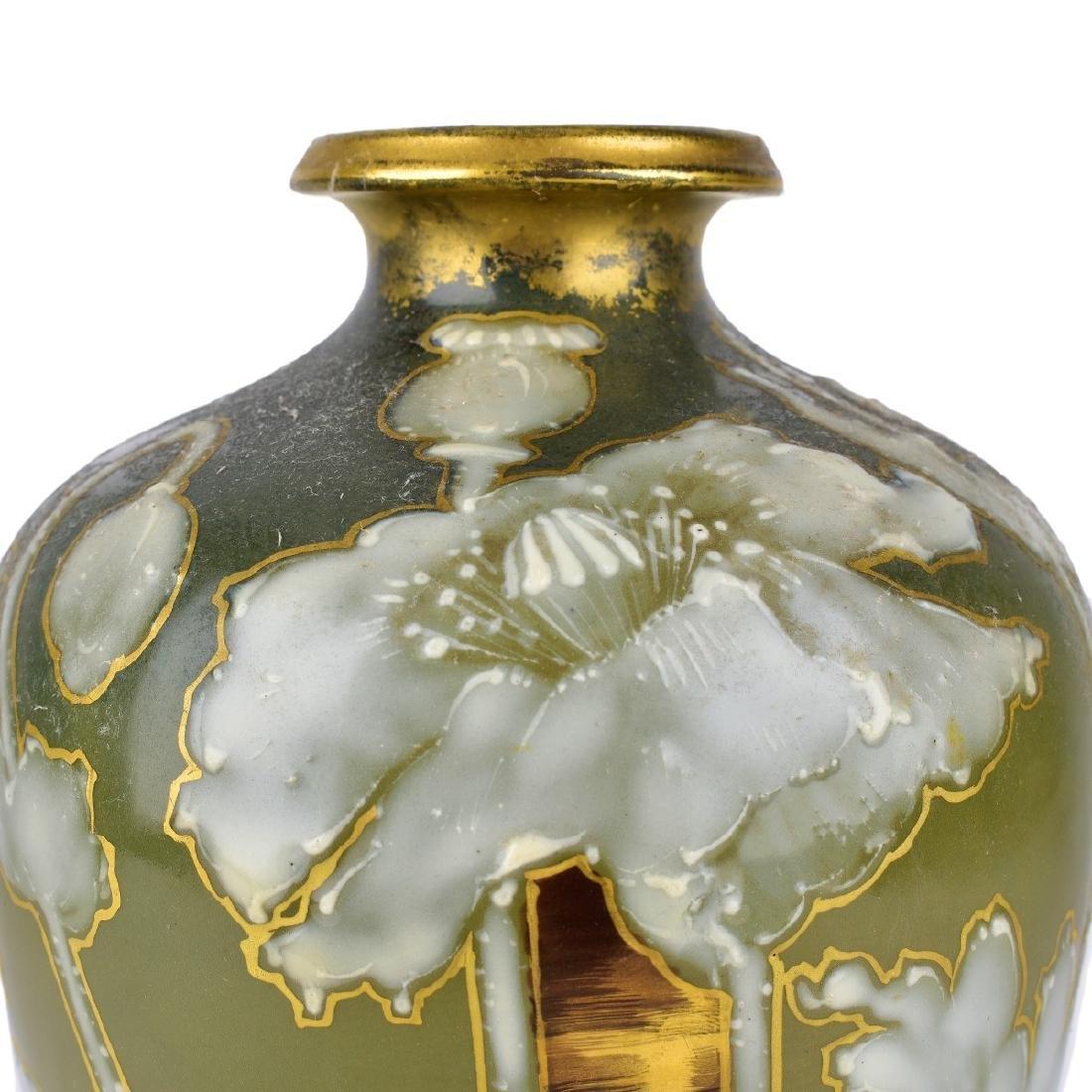 Turn Teplitz Amphora Pottery Vase - 2