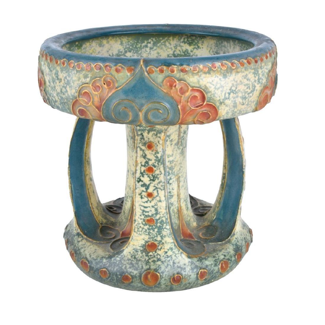 Amphora Turn Teplitz Gres Pottery Compote
