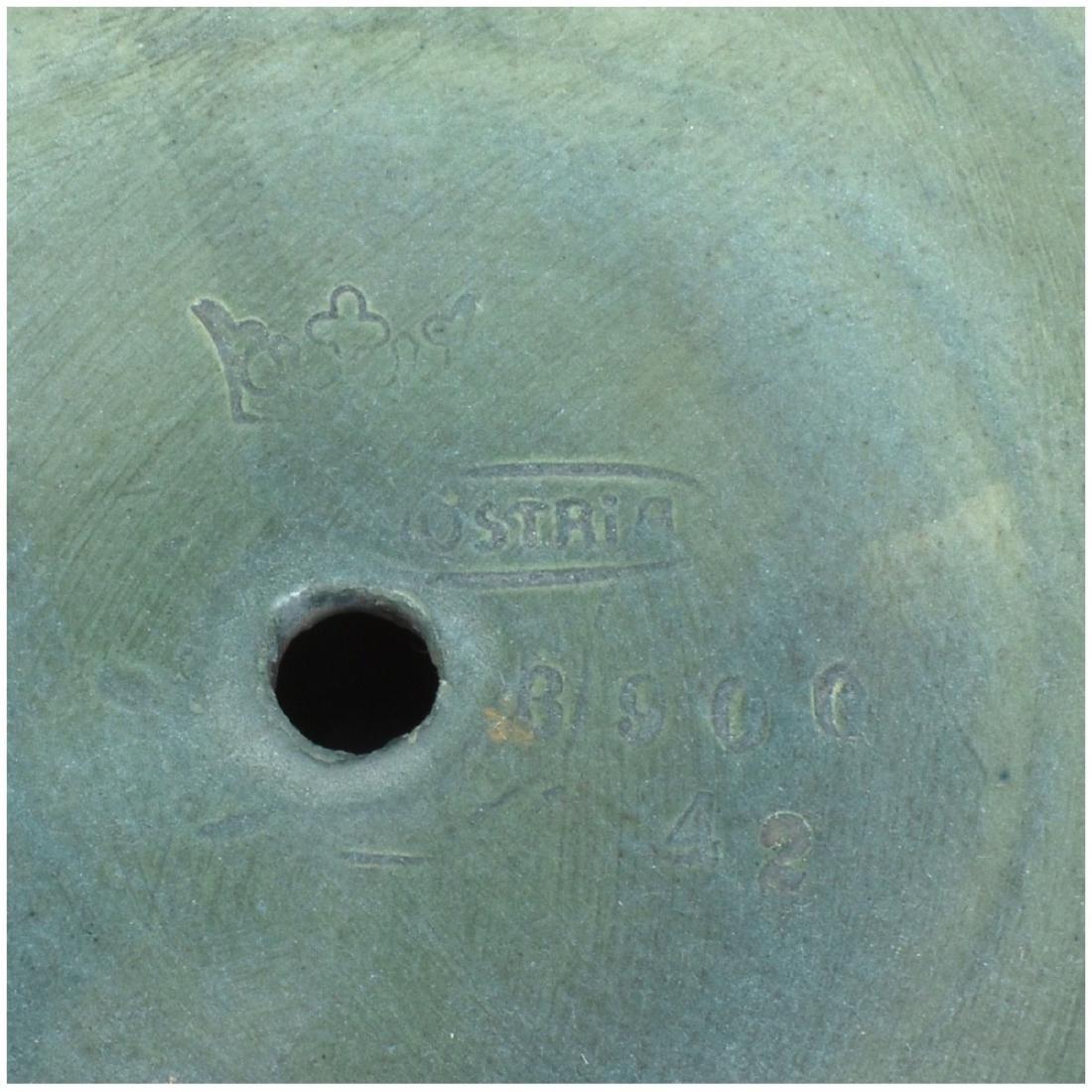 Amphora Turn Teplitz Gres Pottery Compote - 5