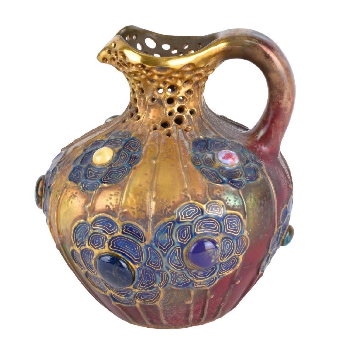 Werke Reissner Amphora Gres Bijou Pottery Ewer