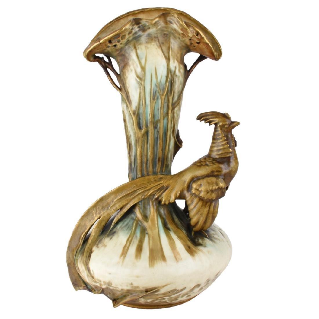 Large Werke Reissner Amphora Vase
