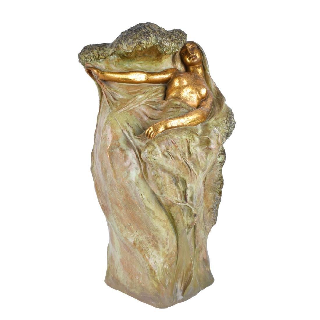 Amphora Art Nouveau Nymph Vase