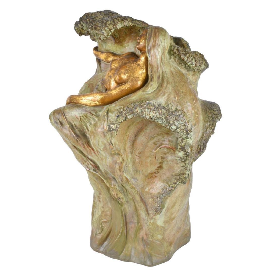 Amphora Art Nouveau Nymph Vase - 2