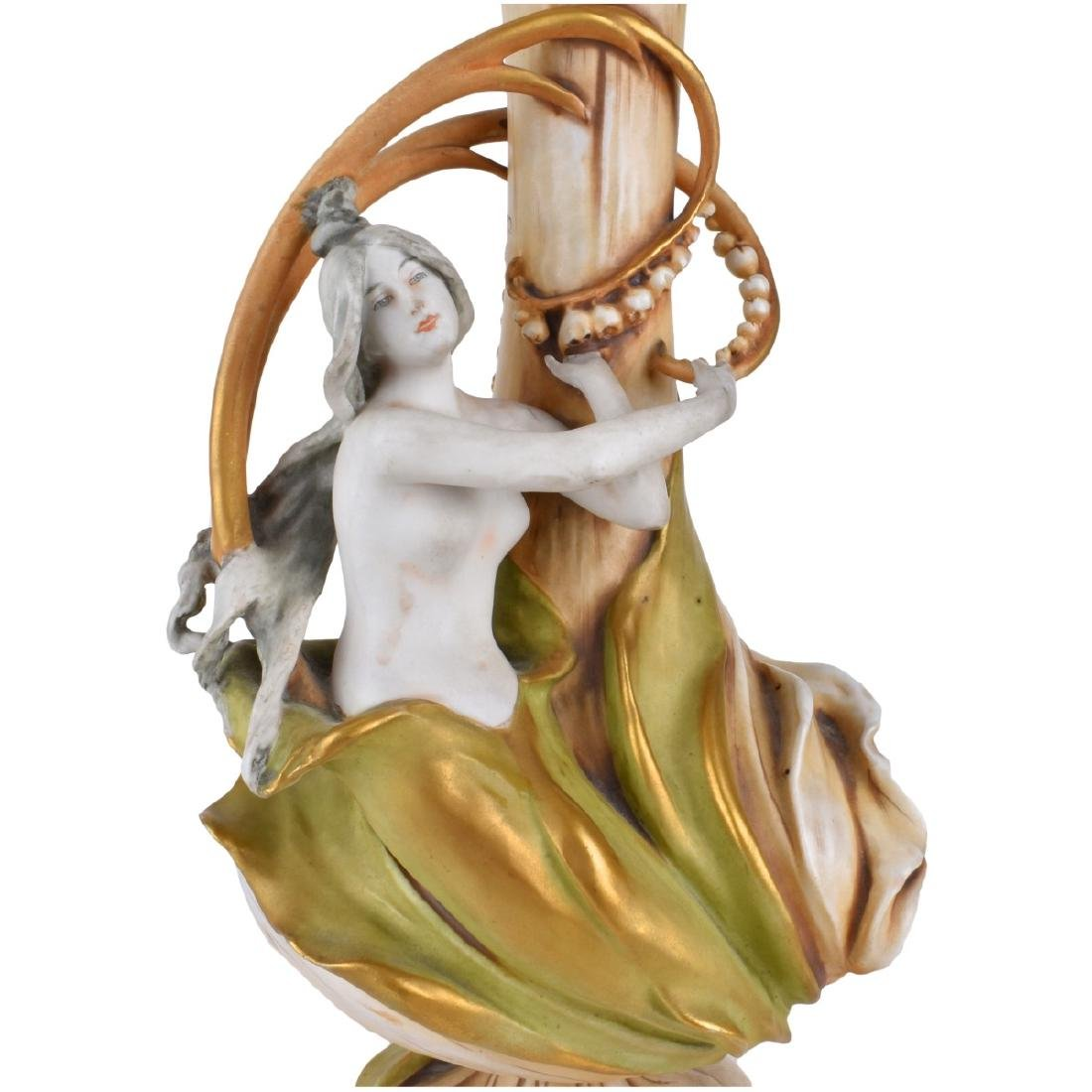 Eduard Stellmacher Amphora Maiden Vase - 2