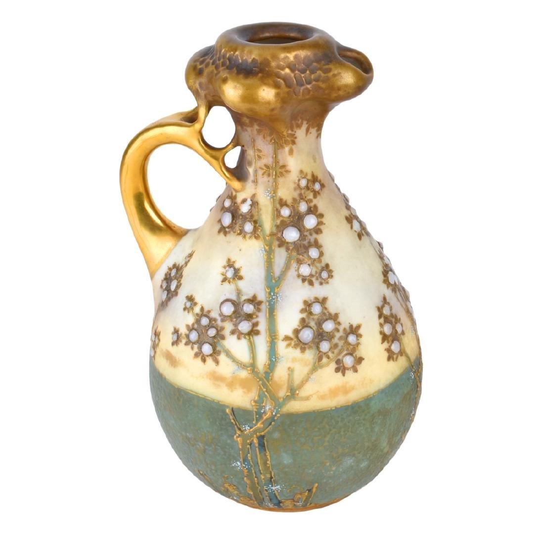 Amphora Turn Teplitz Ewer