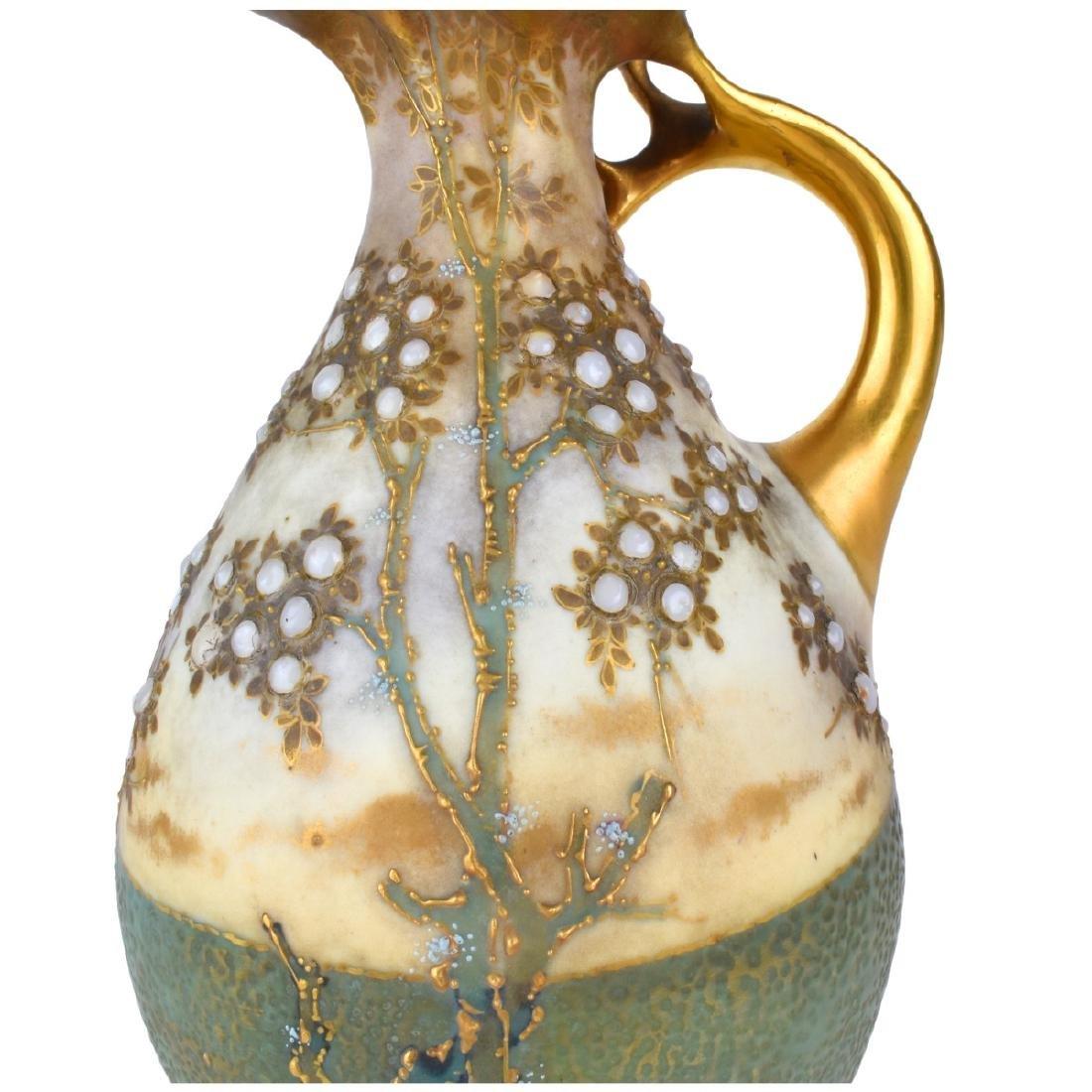 Amphora Turn Teplitz Ewer - 4