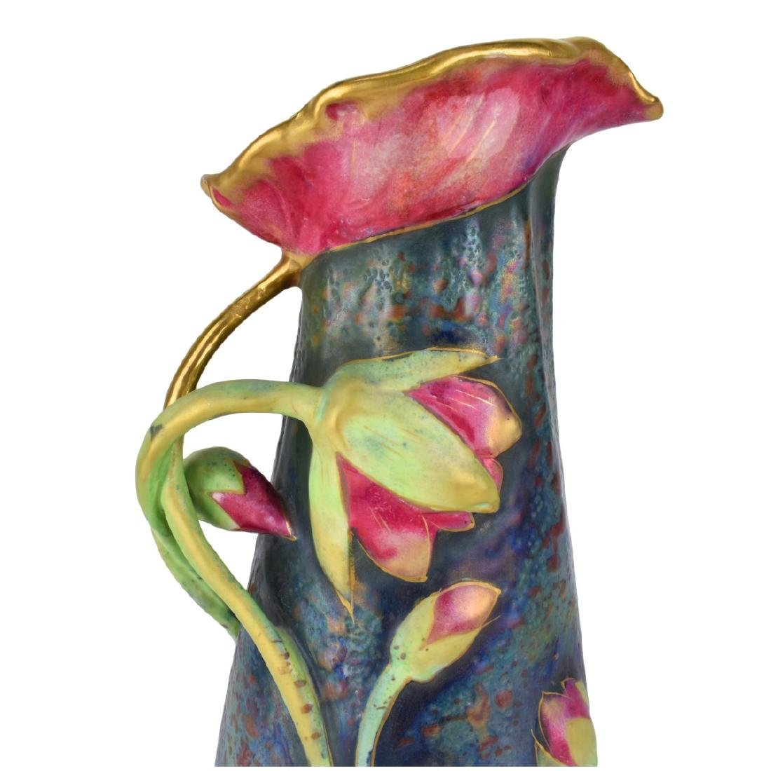 Amphora Water Lily Pitcher - 3