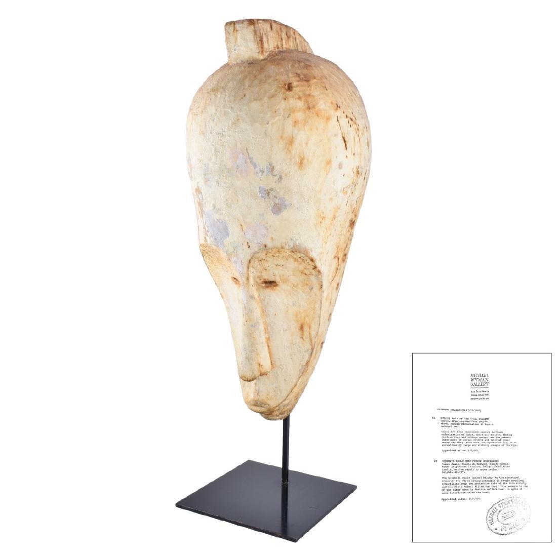 African N'gil Fang Helmet Mask
