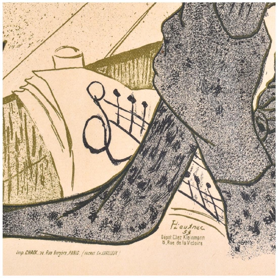 Toulouse-Lautrec (1864 - 1901) Lithograph - 4