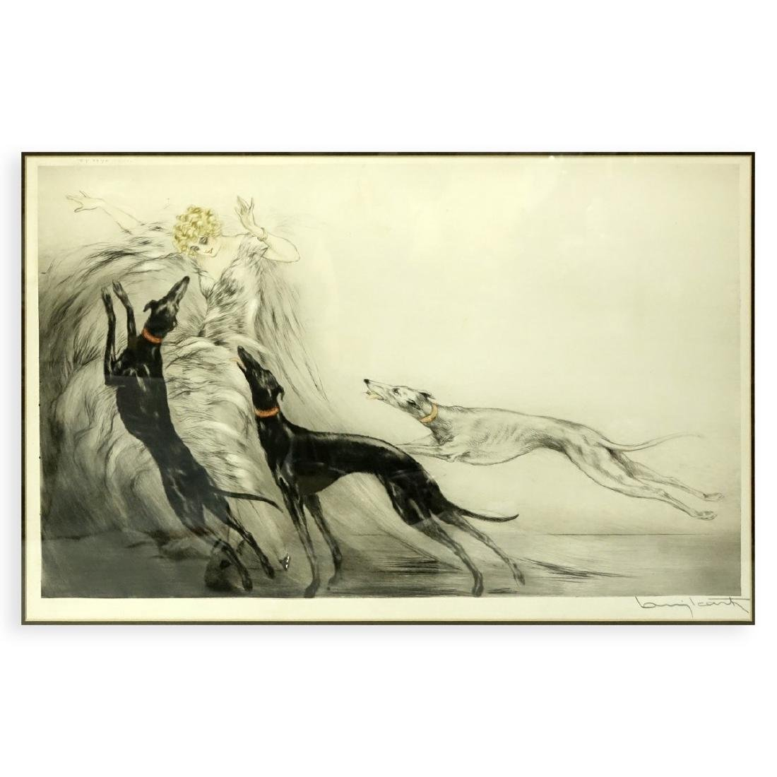 Louis Icart, French (1888 - 1950) Drypoint Etching