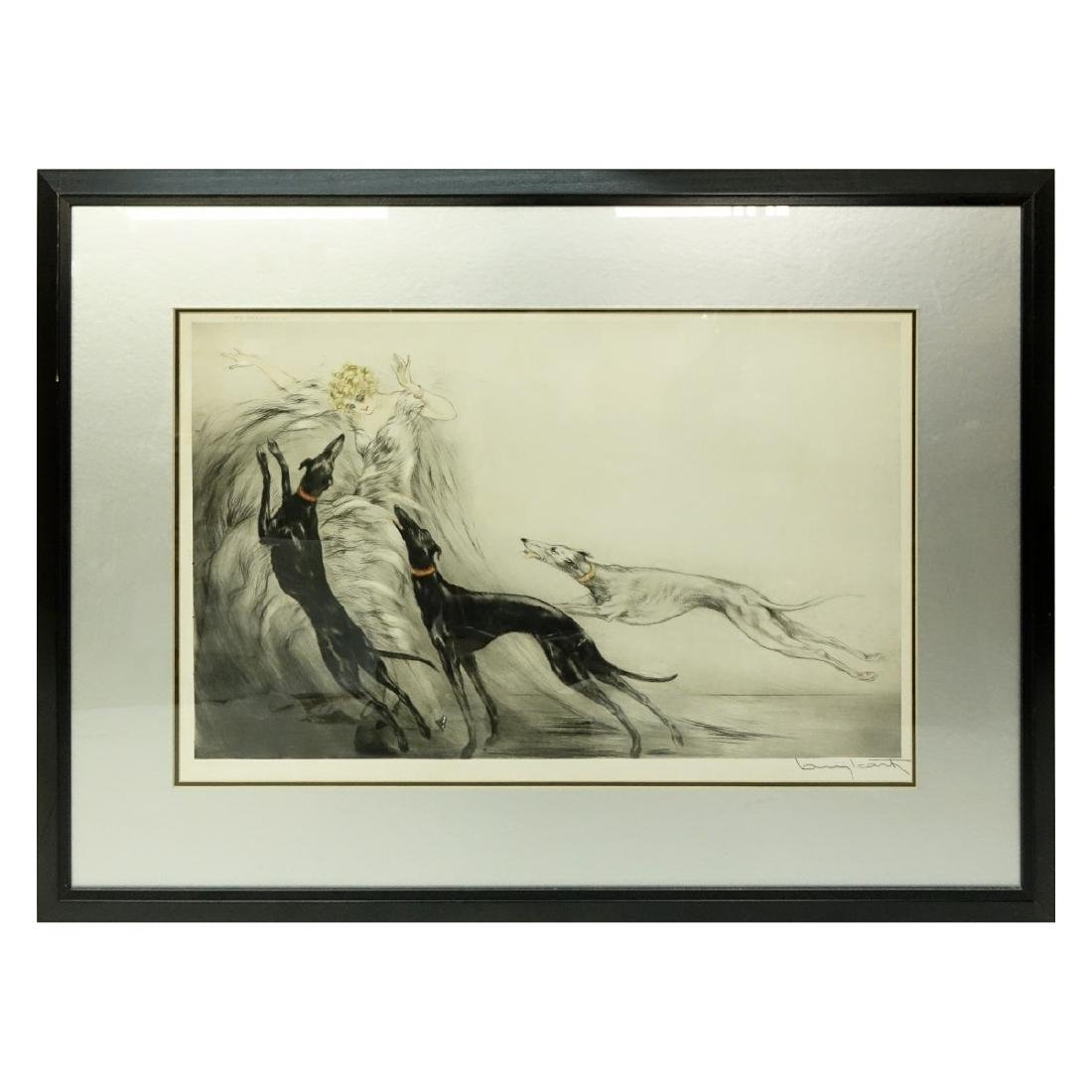Louis Icart, French (1888 - 1950) Drypoint Etching - 2