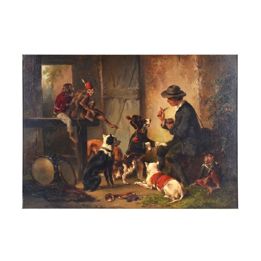 Wouterus Verschuur I, Dutch (1812 - 1874) O/P