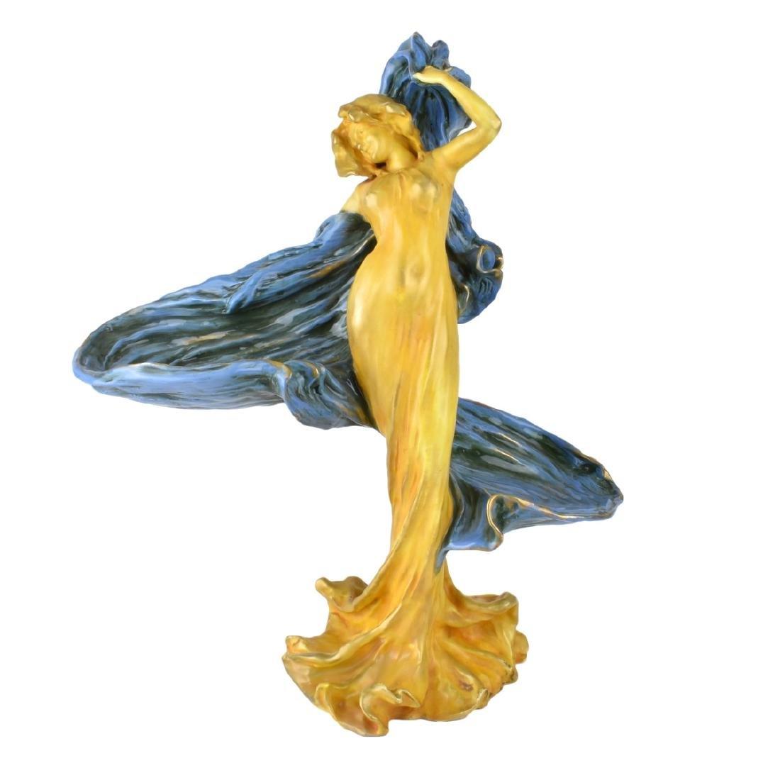Amphora Dancer with Veil Porcelain Figurine