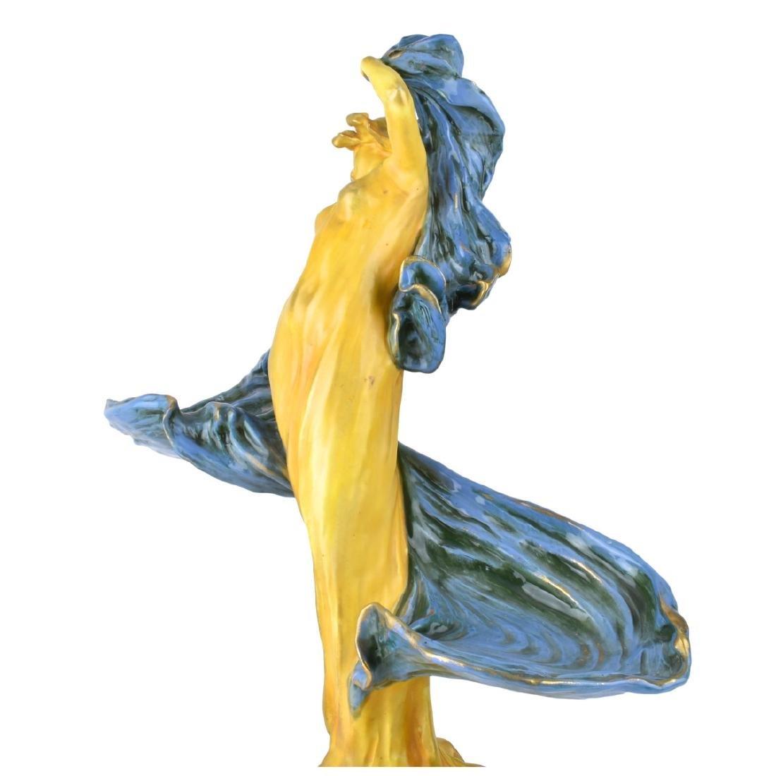 Amphora Dancer with Veil Porcelain Figurine - 2