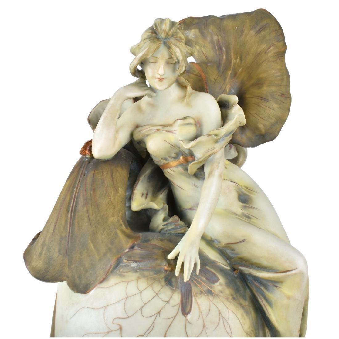 "Amphora ""Iris"" Porcelain Vase - 2"