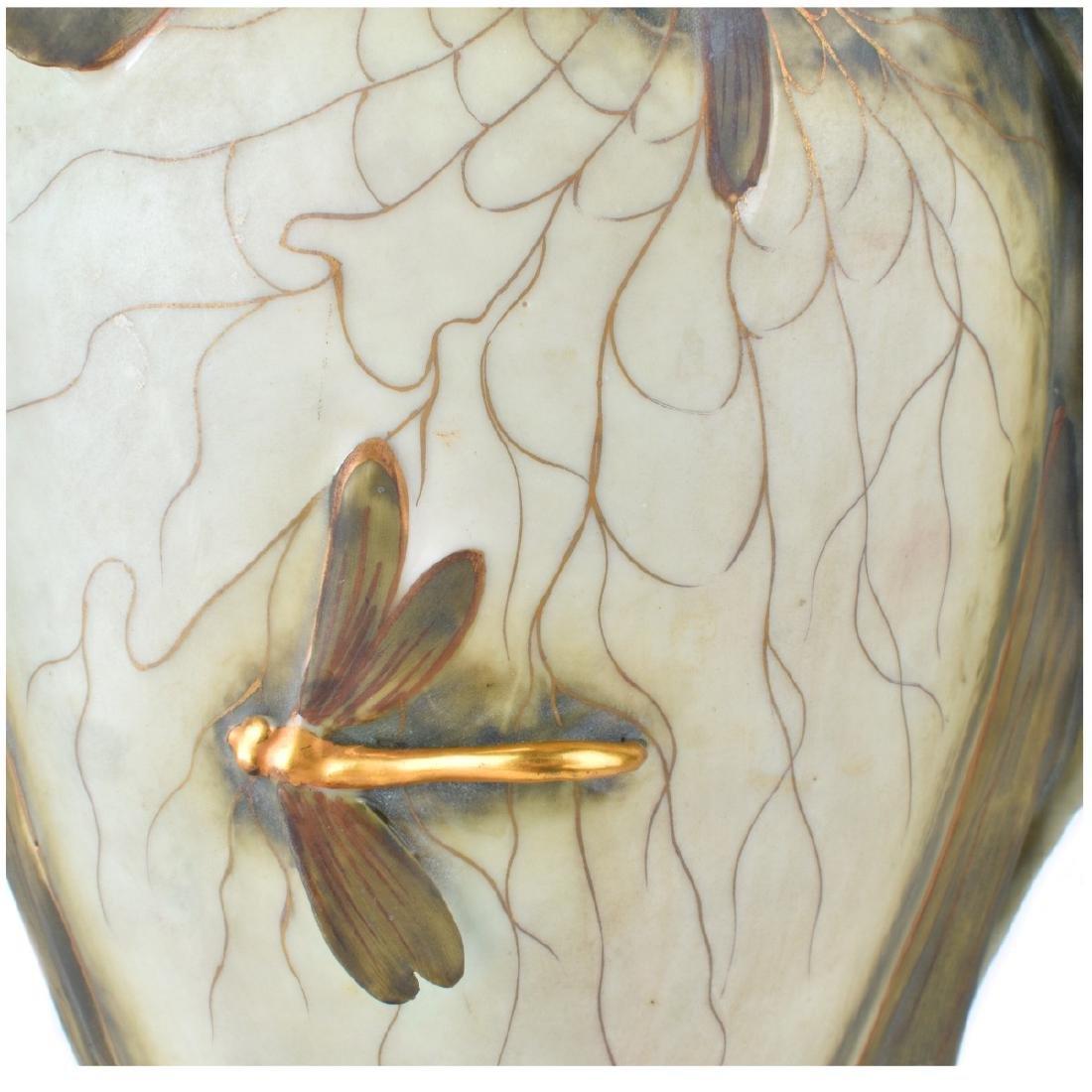 "Amphora ""Iris"" Porcelain Vase - 3"