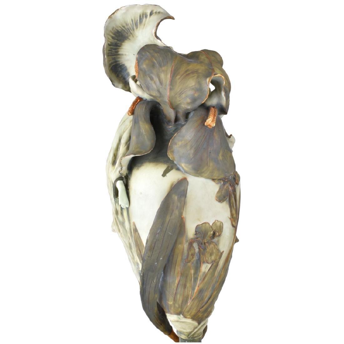 "Amphora ""Iris"" Porcelain Vase - 5"